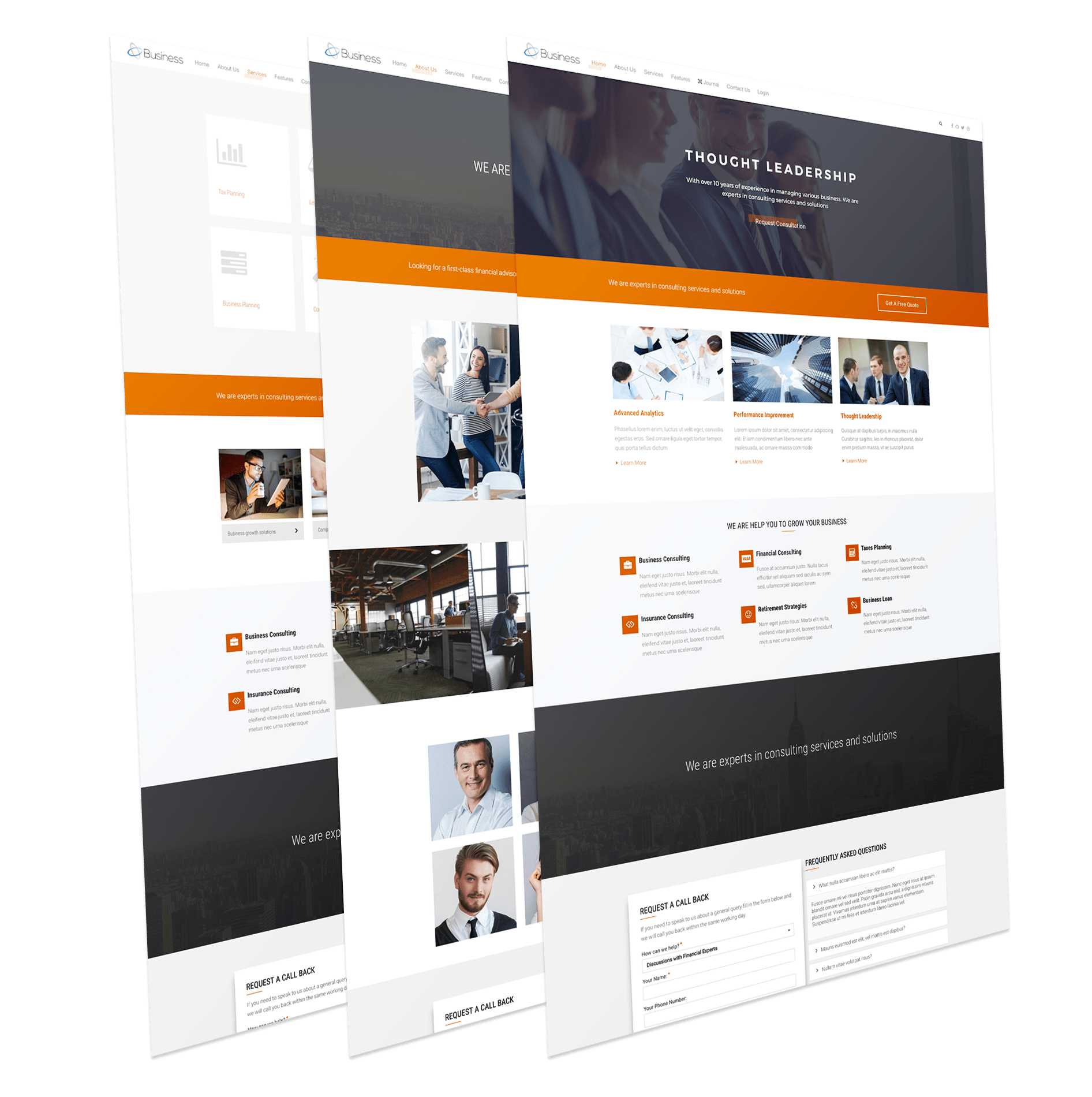 Wt business free joomla business template wt business business joomla template wajeb Gallery