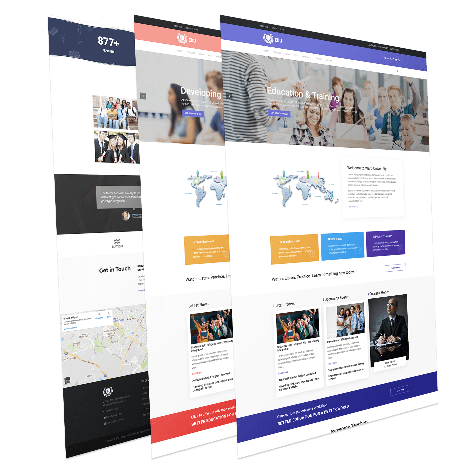 Edu - Responsive Education WordPress Theme