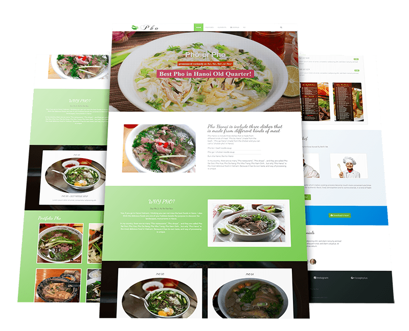 Food joomla template by warptheme forumfinder Images