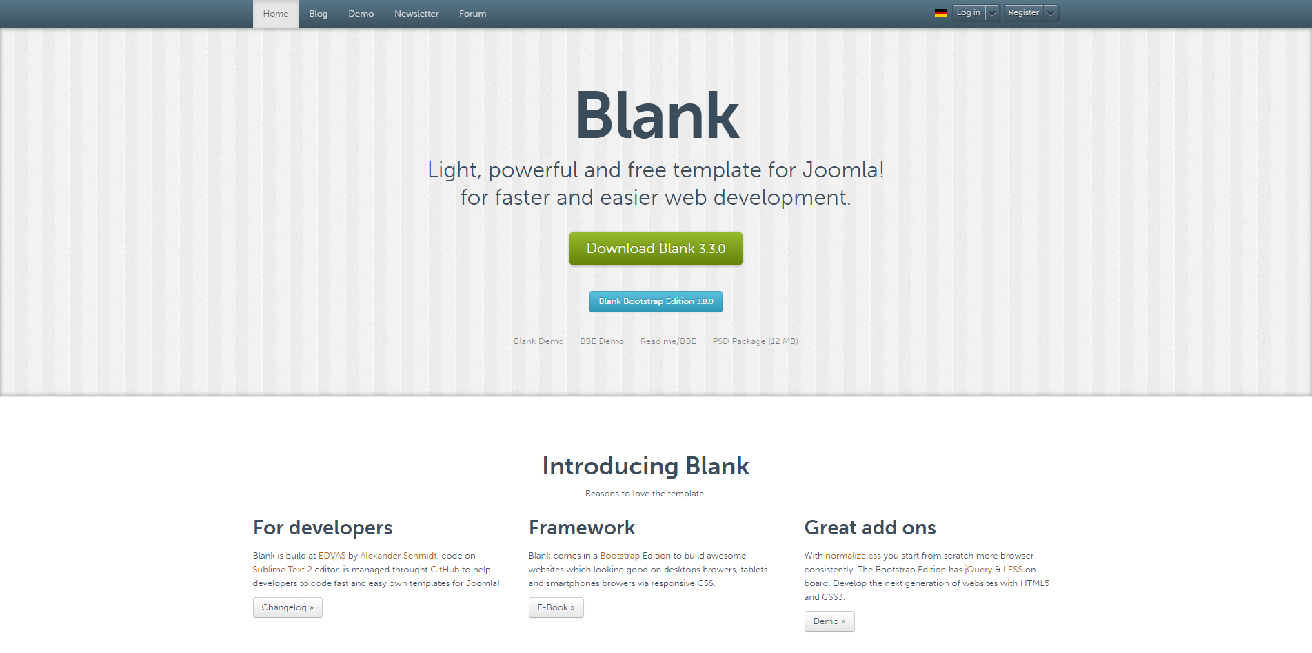 11 Joomla Template Framework For Developer 2016