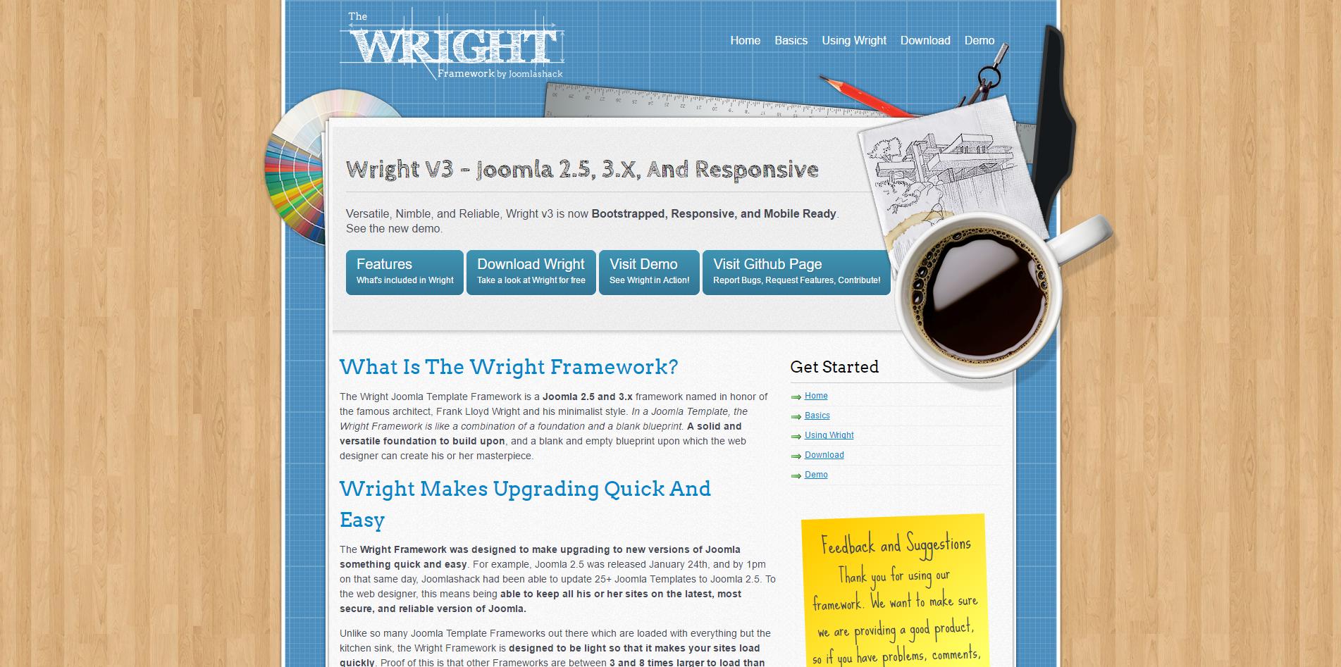 Wright Framework
