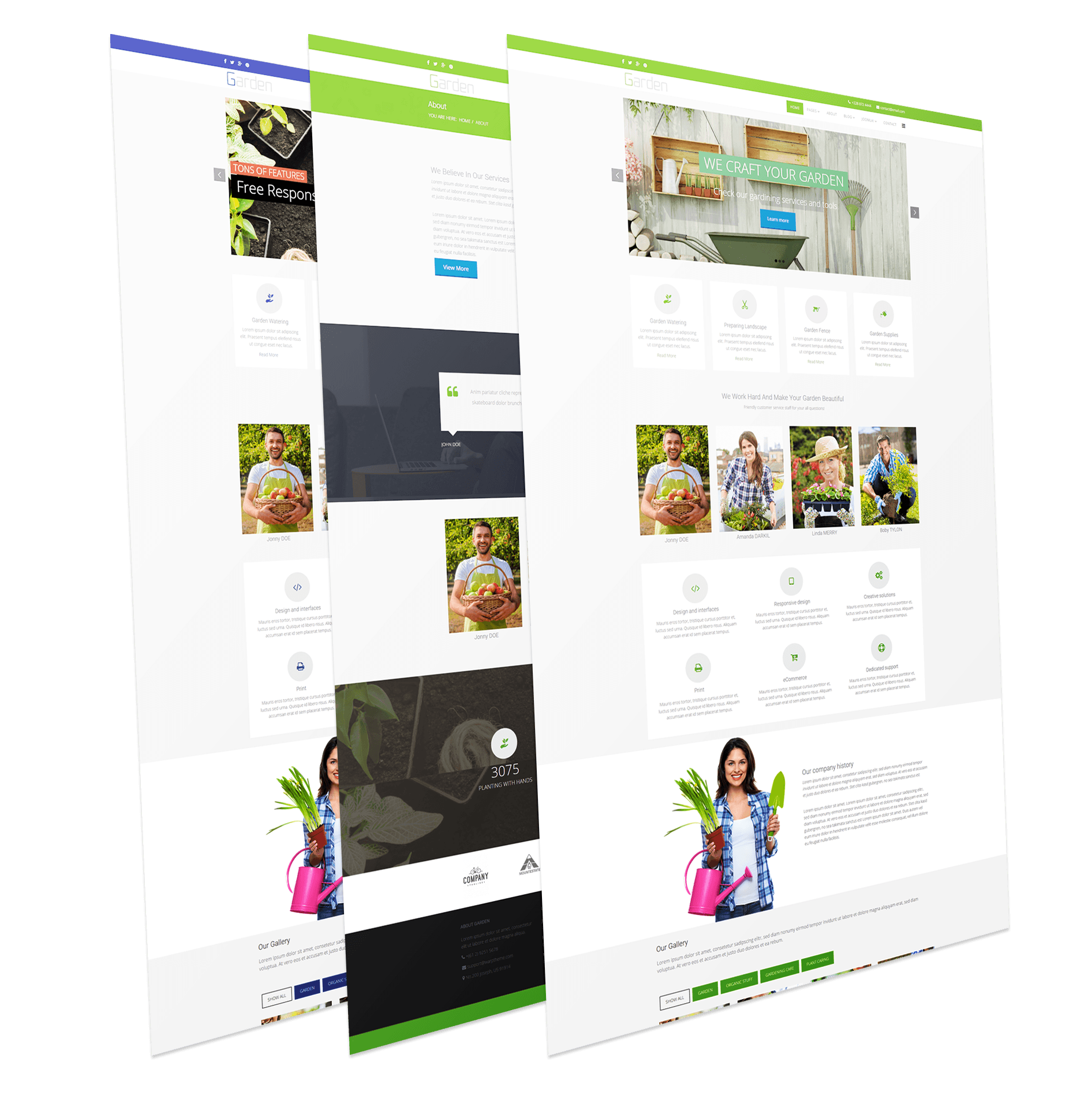 Lawn Services Business Template