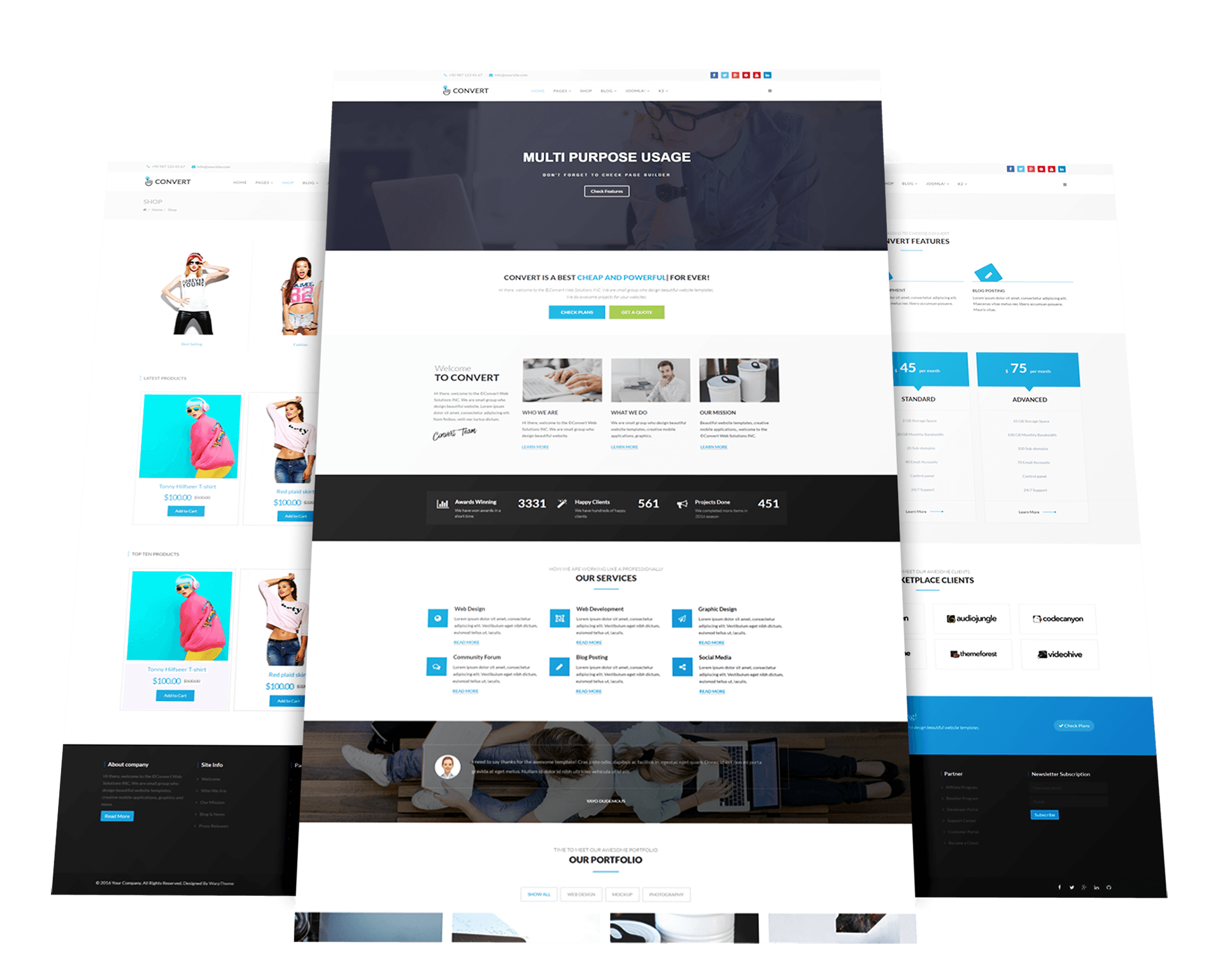 Convert multi purpose business joomla template business joomla template flashek Gallery