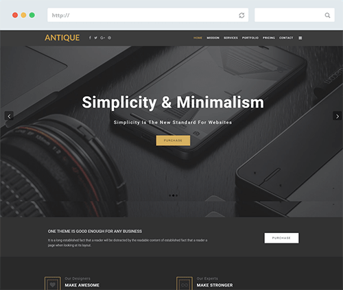 Responsive free joomla templates and premium joomla templates one page joomla business template wajeb Gallery
