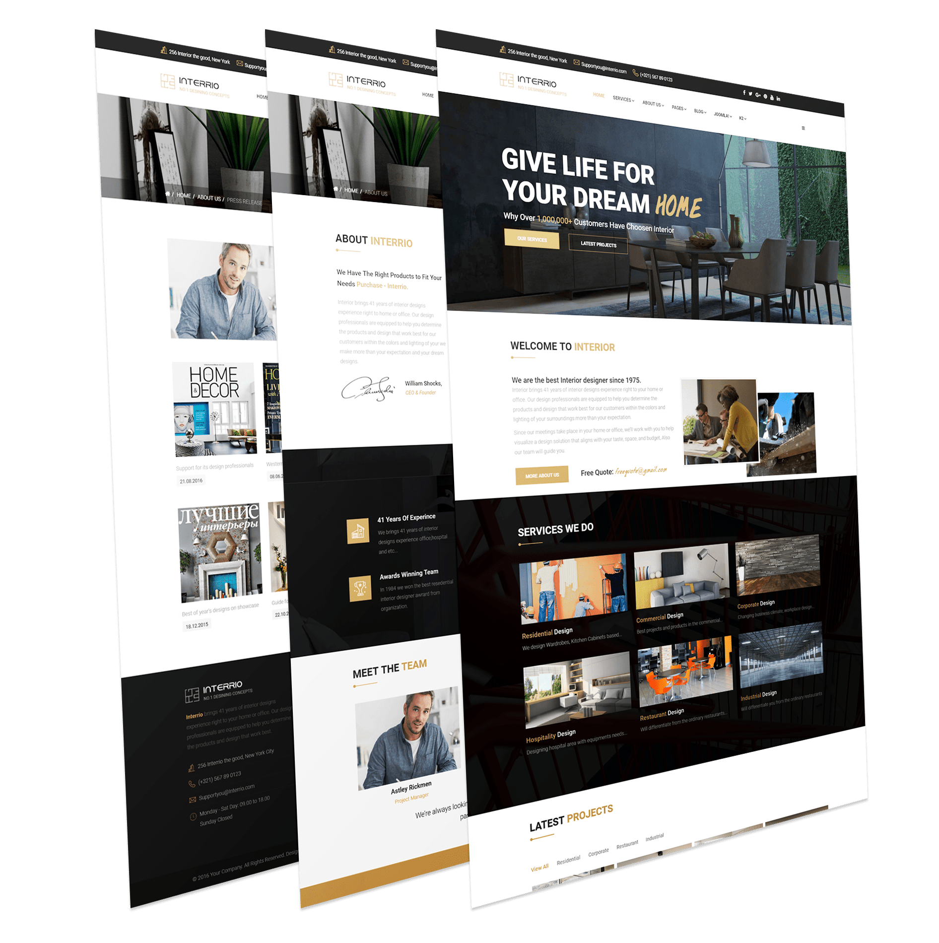Joomla Template for Architecture