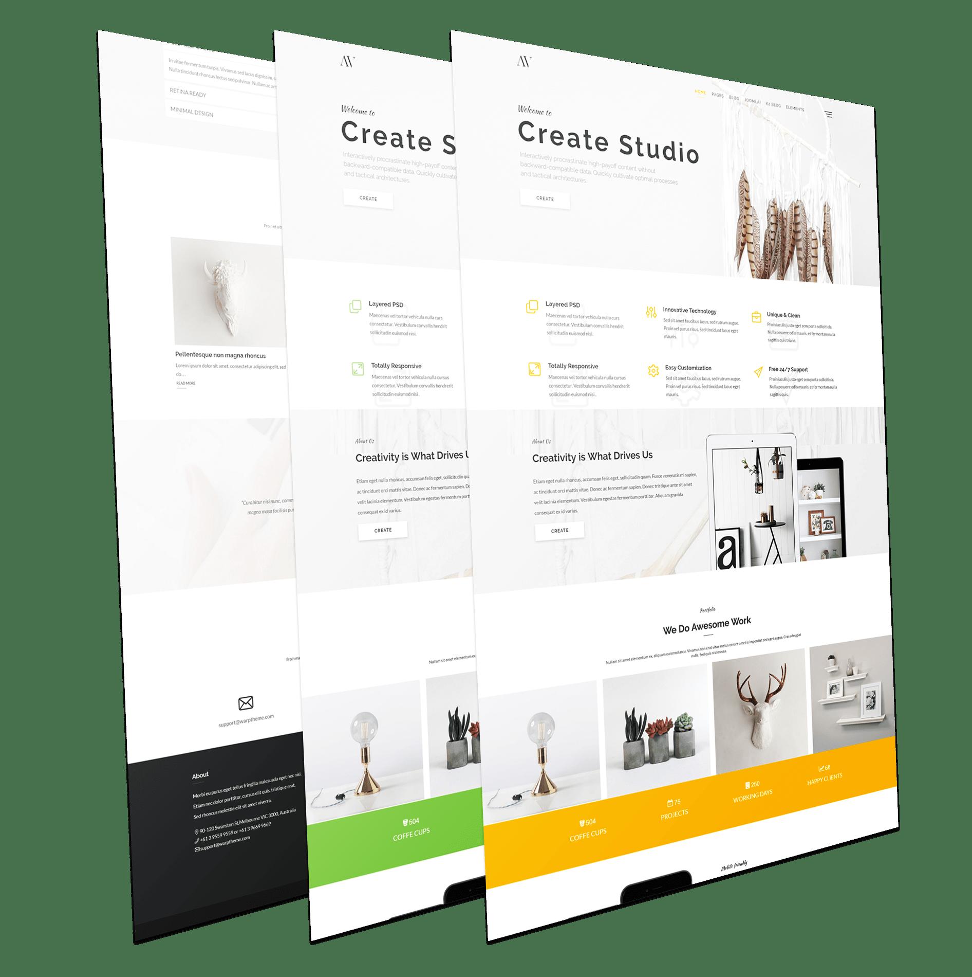 Avonmore - Creative Multipurpose Joomla Template