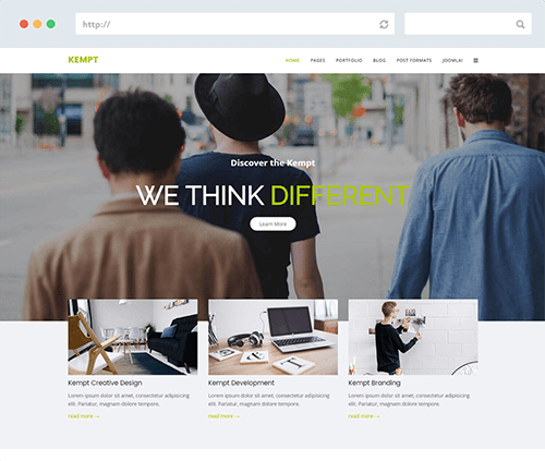 Creative Multipurpose Joomla Template
