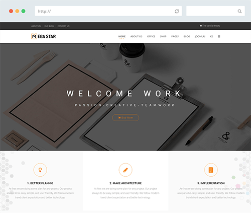 Hikashop Joomla Template