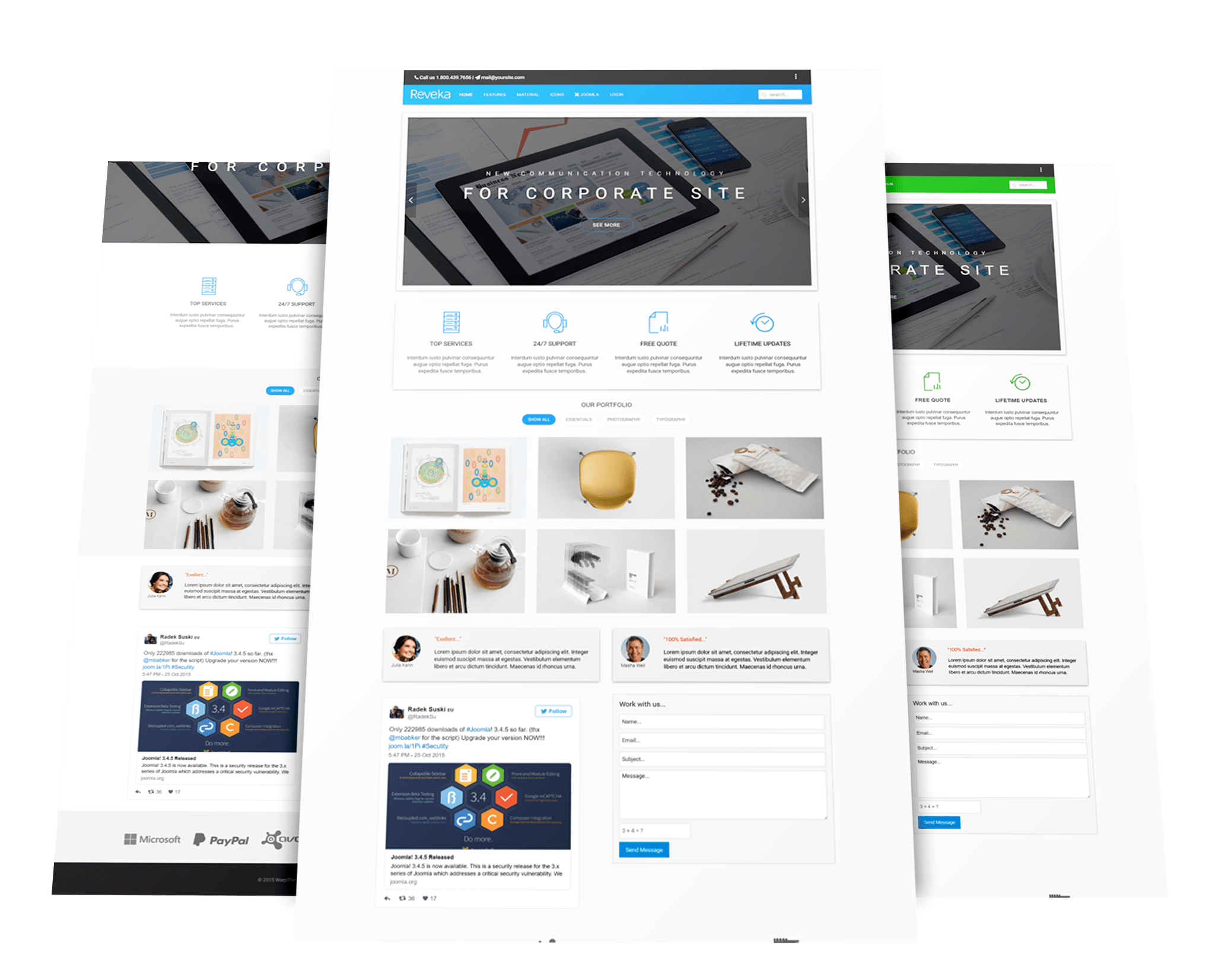 Joomla template creator open source 28 images for Joomla template builder software