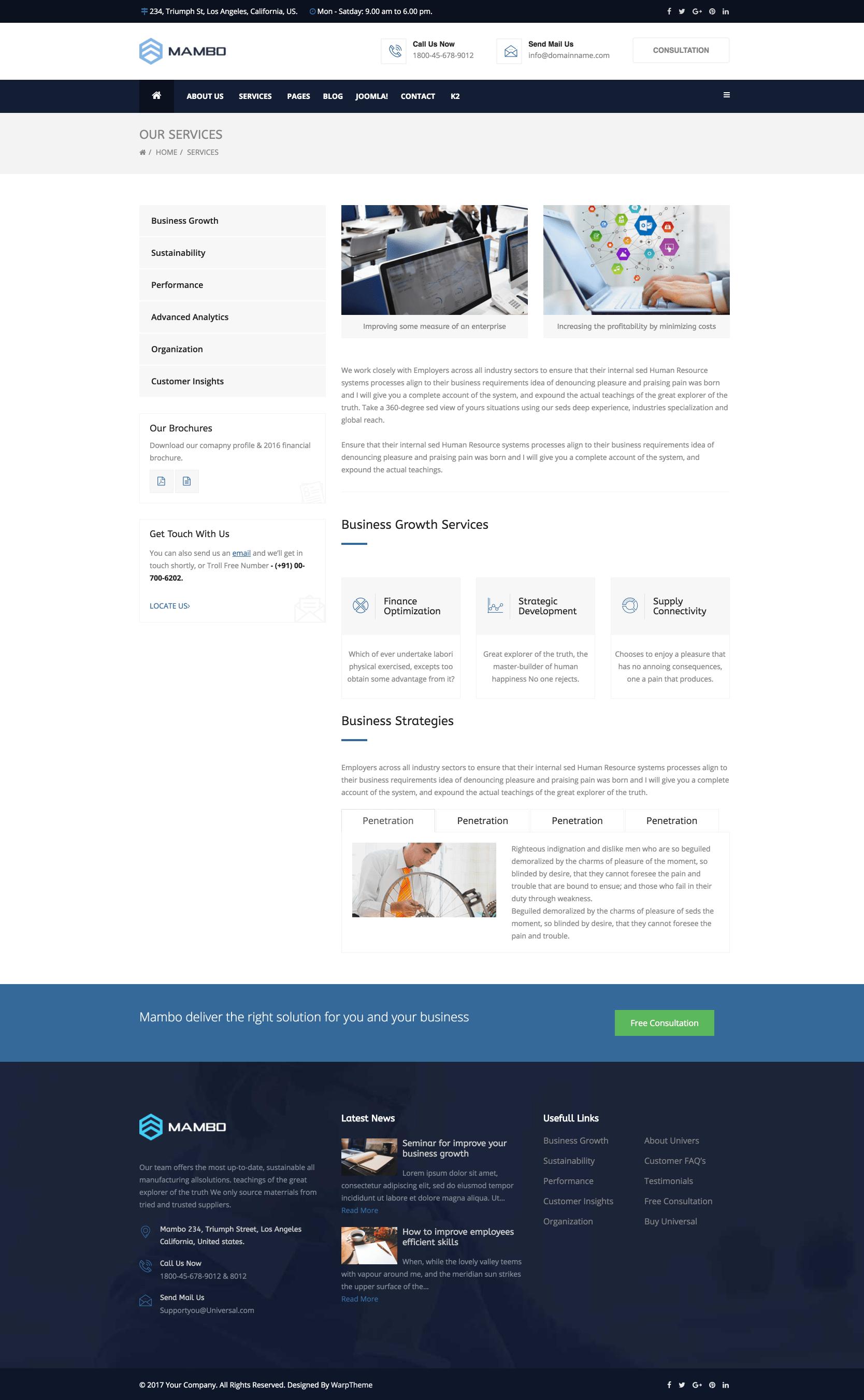 Joomla template tutorial.