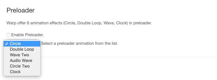 Preloader Animations