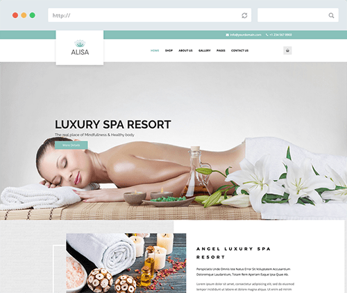 Beauty Spa Template