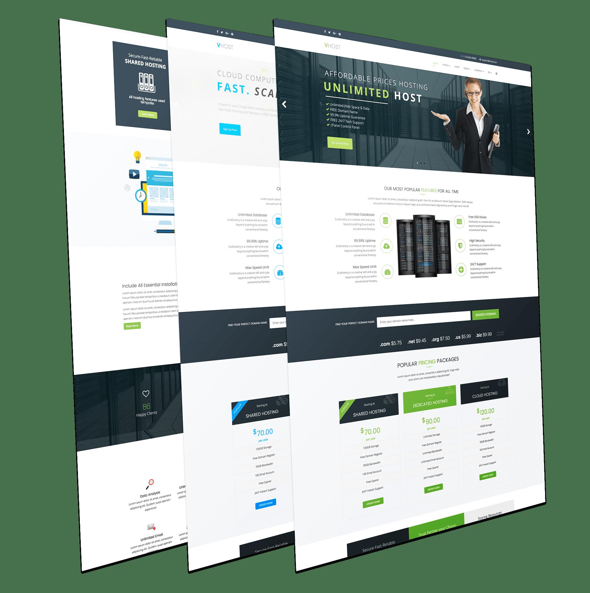 Шаблоны для joomla 3 для хостинг бесплатно перенести сайт на хостинг