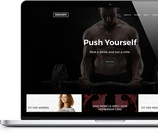 Gym and Fitness Template