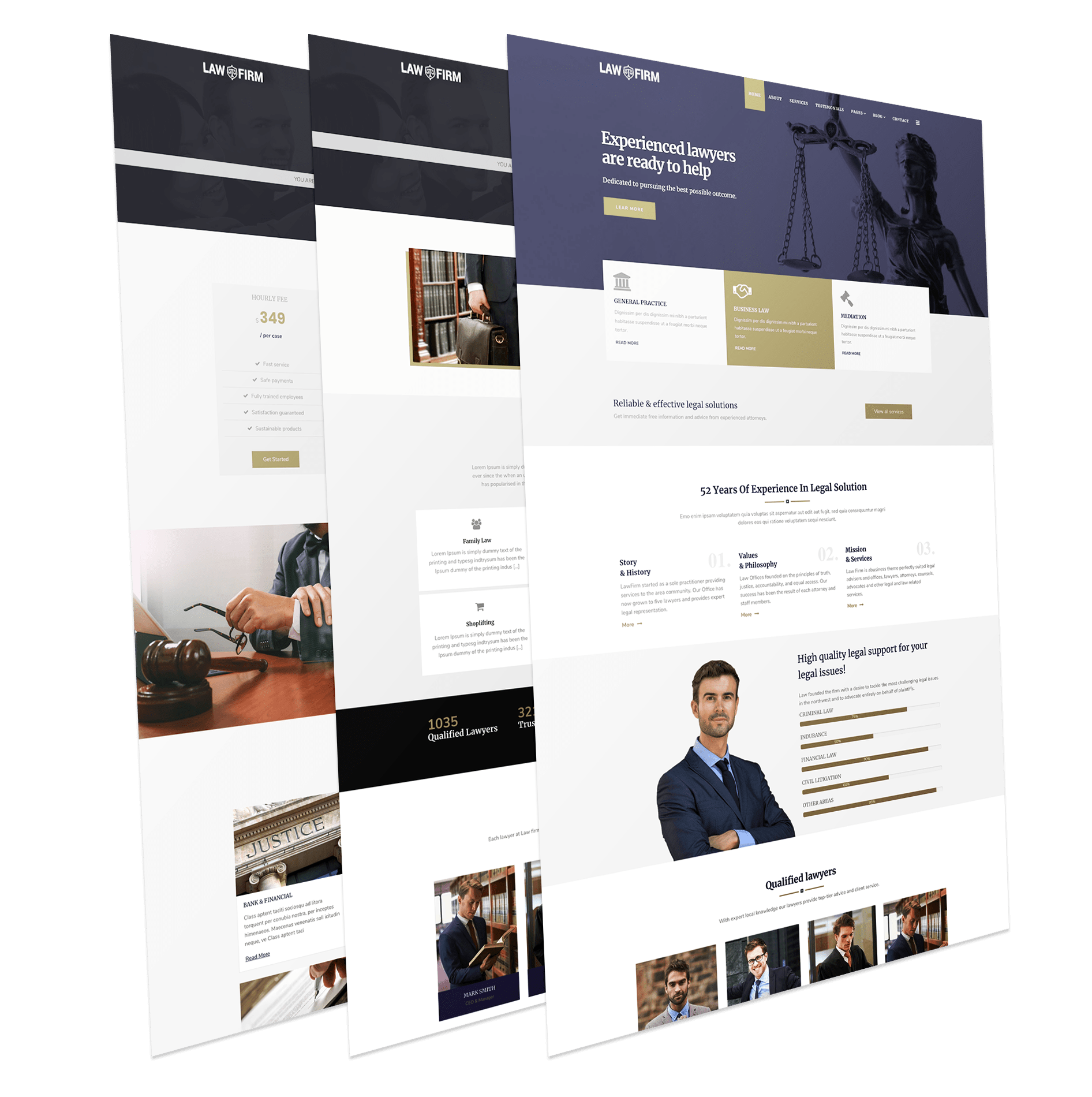 Law Joomla Template
