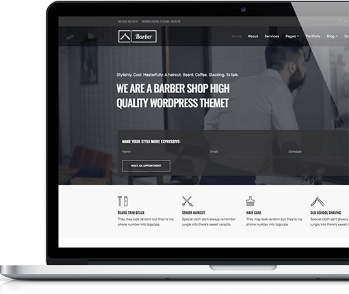 Joomla Template for Barbers