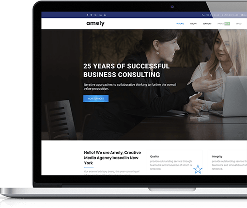 Consulting and Business Joomla Theme