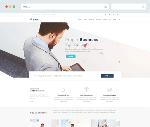 e-Commerce Joomla Template