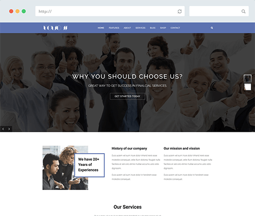 Creative Business Joomla Template