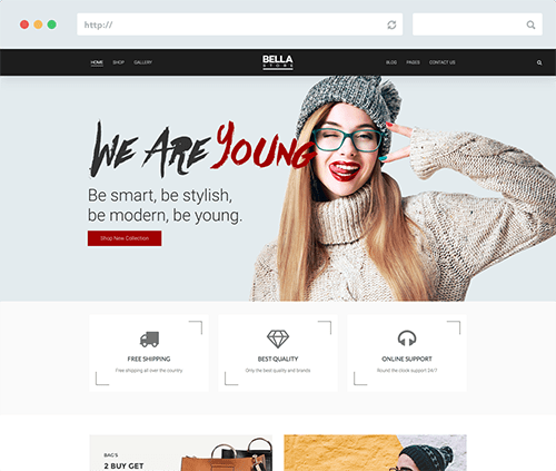 Joomla Shopping Template