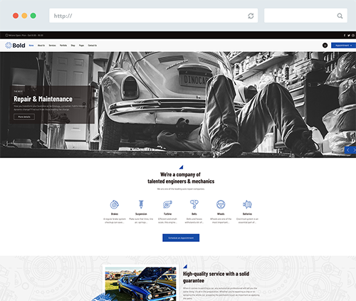 Car Mechanic Joomla Template